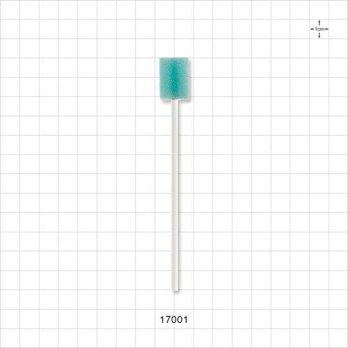 Swab, Light Green Foam Head - 17001