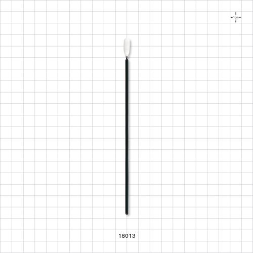 Precision Swab with Flexible Tip, Black Handle - 18013