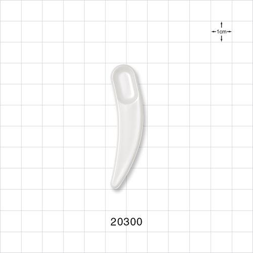 Boomerang Spatula, White - 20300