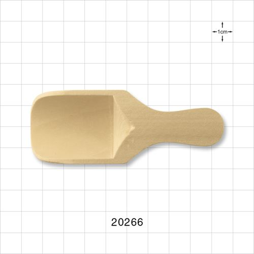 Natural Wooden Scoop - 20266