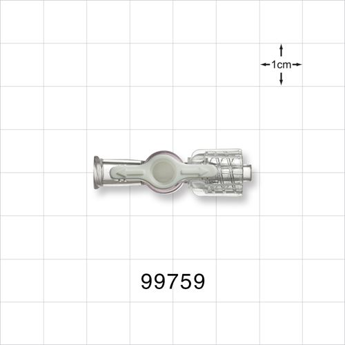 1-Way Stopcock, Female Luer Lock, Male Luer with Spin Lock - 99759
