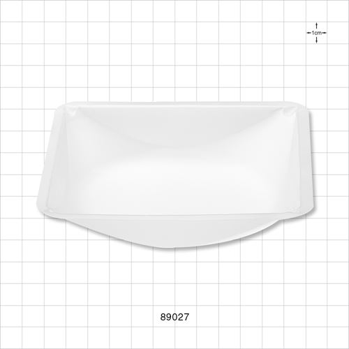 Balance Dish for Liquids or Powders, White - 89027