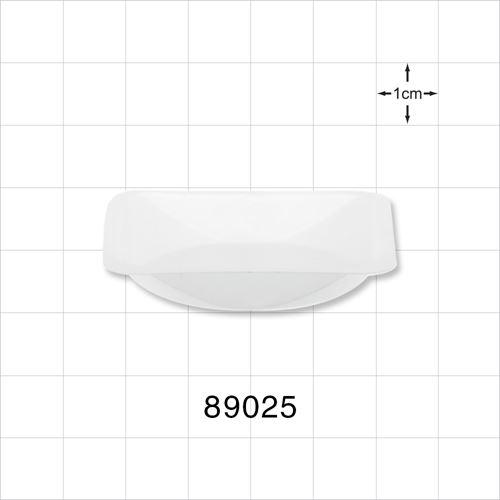 Balance Dish for Liquids or Powders, White - 89025