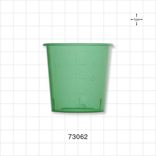 Medicine Cup, Green - 73062