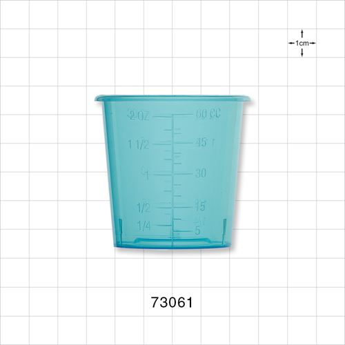 Medicine Cup, Blue - 73061