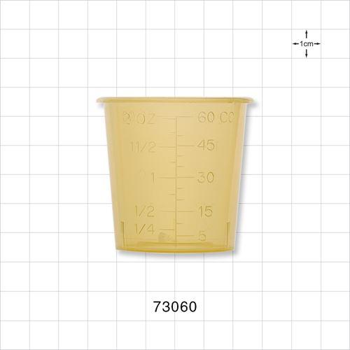 Medicine Cup, Yellow - 73060