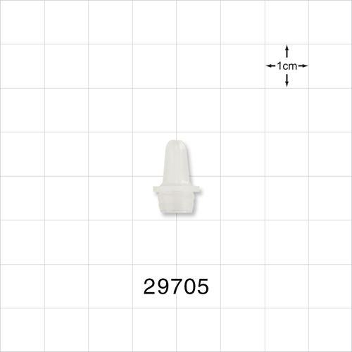 Dropper Tip Insert, Natural, for 29703 - 6 cc Bottle - 29705