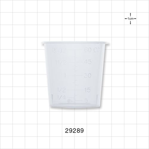 Measuring Cup, Clear - 29289
