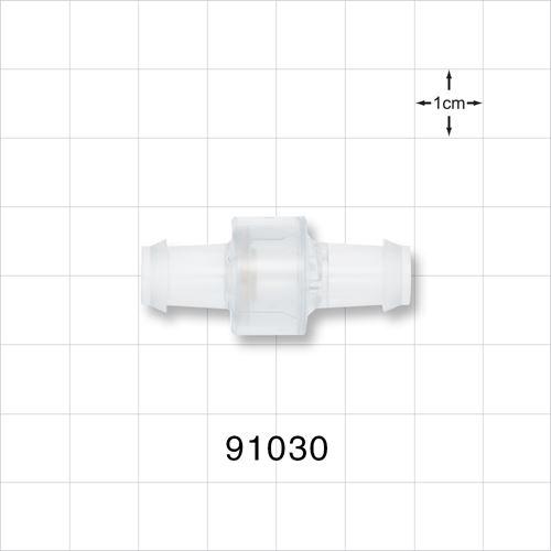 High Flow Check Valve, Barbed - 91030