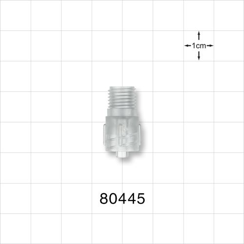 Tuohy Borst Adapter Body, Male Luer Lock - 80445