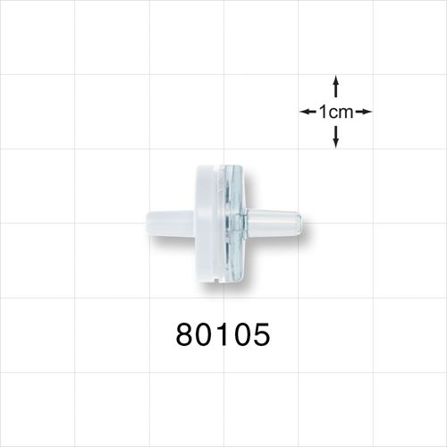 Check Valve, White Inlet, Clear Outlet - 80105