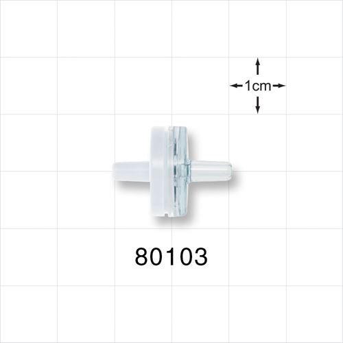 Check Valve, White Inlet, Clear Outlet - 80103
