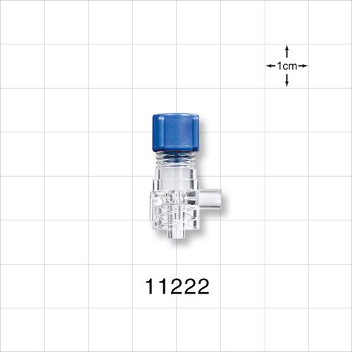 Tuohy Borst Adapter, Male Luer Lock, Sideport Connector - 11222