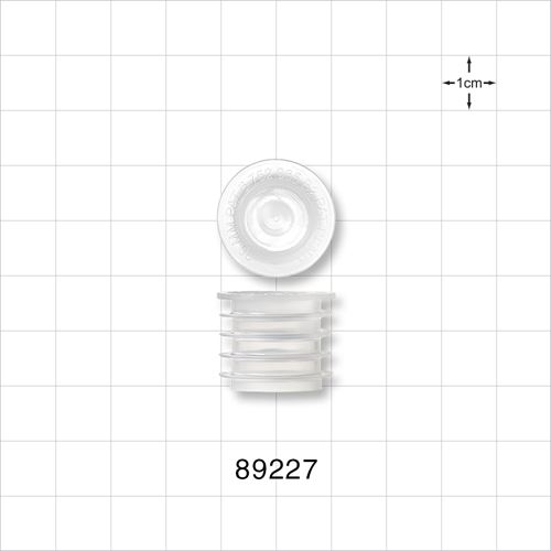 Self-Sealing Press-In Bottle Adapter with Pierced Septum - 89227