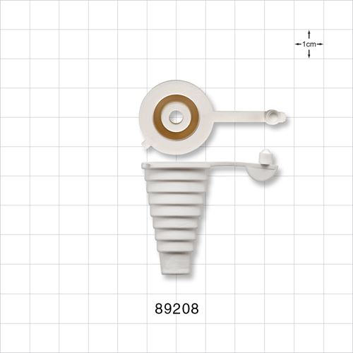 Tapered Bottle Adapter, for 16 mm - 22 mm Bottle Neck Opening - 89208