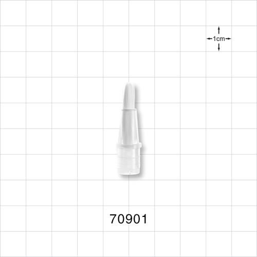Brush Tip for 70902 2 ml and 70904 3.85 ml Dial-Up Applicator Tubes - 70901