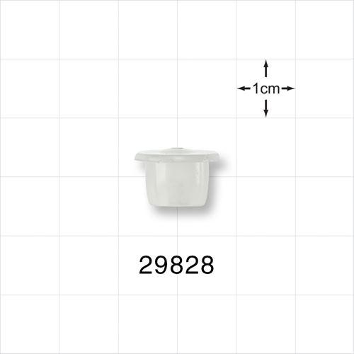 Reducer, Natural, for 29826 - White Cap for 29827 - 10 ml Natural Bottle - 29828