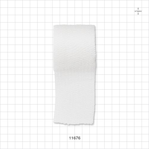 Flexible Cohesive Bandage, White - 11676