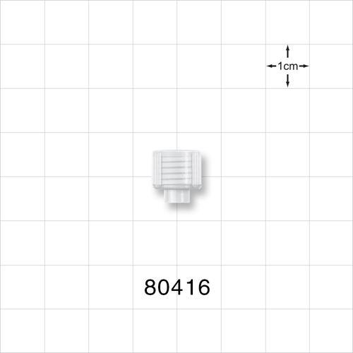 Tuohy Borst Adapter Cap, Natural - 80416