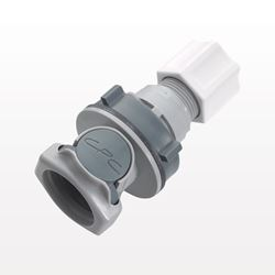 Coupling Body, In-Line Compression, Shut Off - HFCD12612