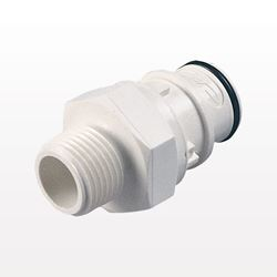 Coupling Insert, Straight Thru In-Line Pipe Thread; NSF Version: NSF88100 - HFC24835