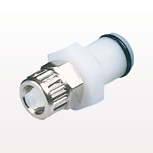 Coupling Insert, In-Line Ferruleless Polytube Fitting, Straight Thru - PLC20006