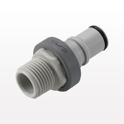 NS6 Series Coupling Insert, Shutoff Polypropylene In-Line Pipe Thread - NS6D24008