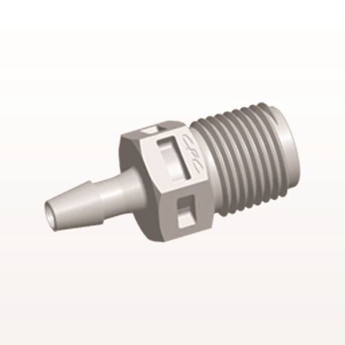 Straight Connector, Barbed, Natural - N4S4