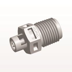 Straight Connector, Barbed, Natural - N4S2