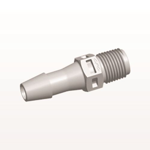 Straight Connector, Barbed, Natural - N4S8