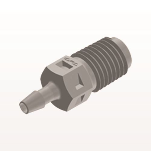 Straight Connector, Barbed, Natural - N2S3
