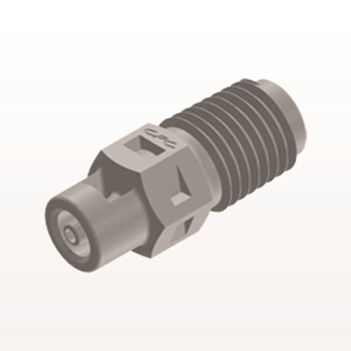 Straight Connector, Barbed, Natural - N2S2