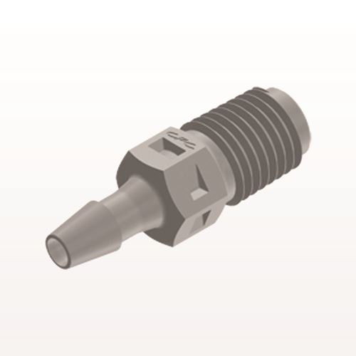 Straight Connector, Barbed, Natural - N2S4