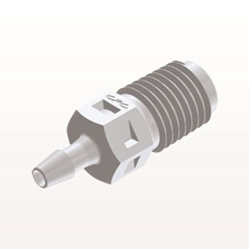 Straight Connector, Barbed, White - N2S330