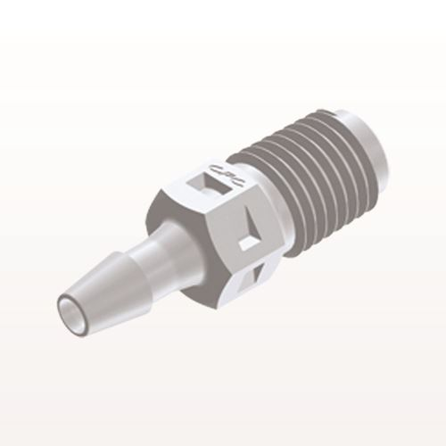 Straight Connector, Barbed, White - N2S430