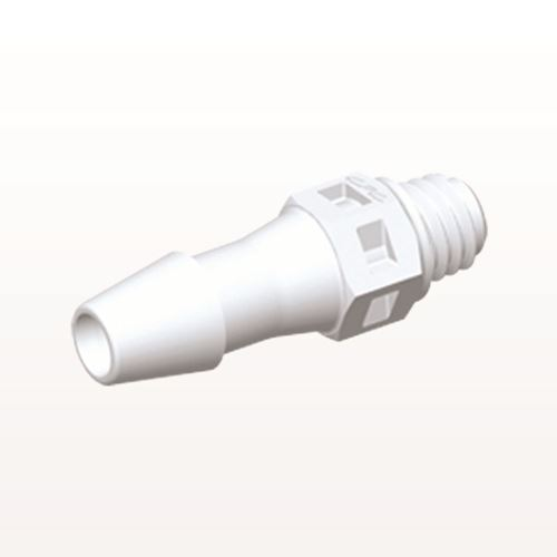 Straight Connector, Barbed, White - MS530