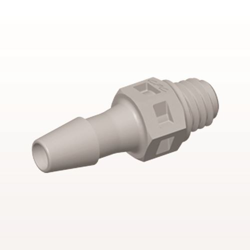 Straight Connector, Barbed, Natural - MS4