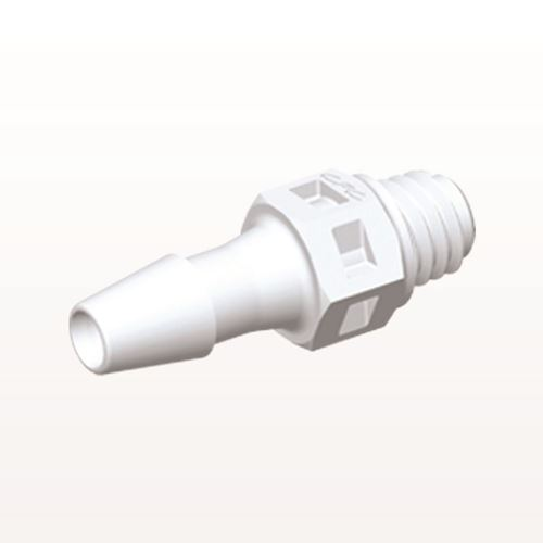 Straight Connector, Barbed, White - MS430