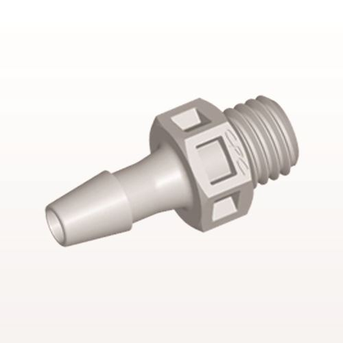 Straight Connector, Barbed, Natural - KS4