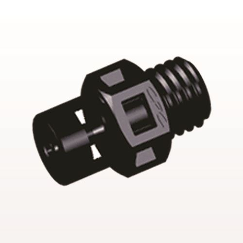 Straight Connector, Barbed, Black - KS231