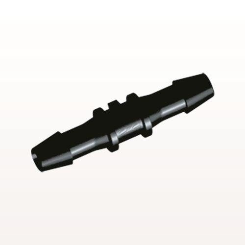 Straight Connector, Barbed, Black - HS631