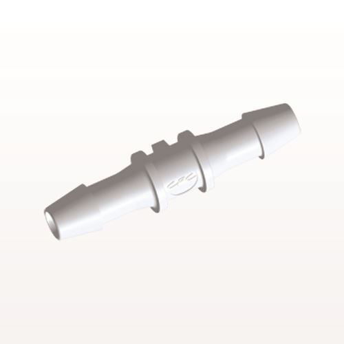 Straight Connector, Barbed, White - HS630