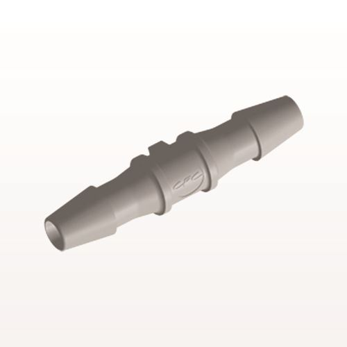 Straight Connector, Barbed, Natural - HS4