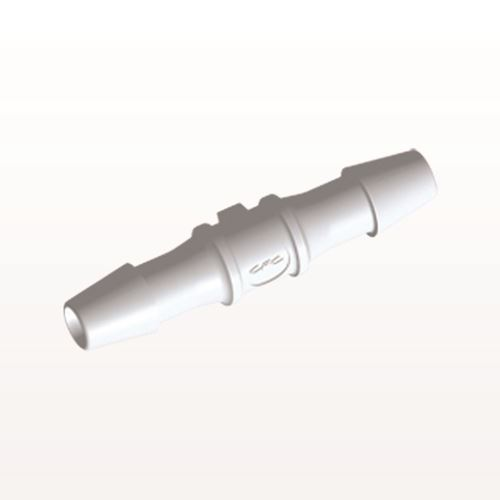 Straight Connector, Barbed, White - HS330