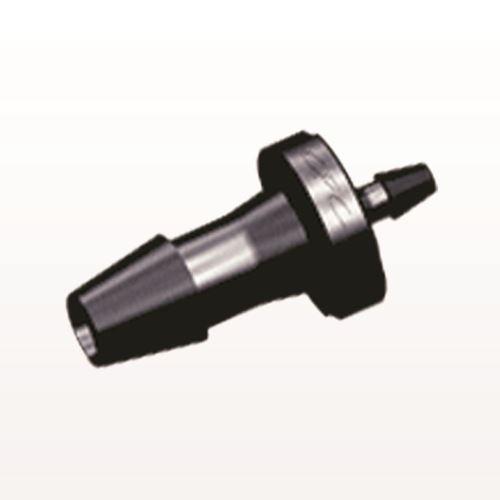 Straight Reducer Connector, Barbed, Black - HSR5231