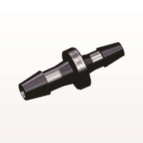 Straight Reducer Connector, Barbed, Black - HSR5431