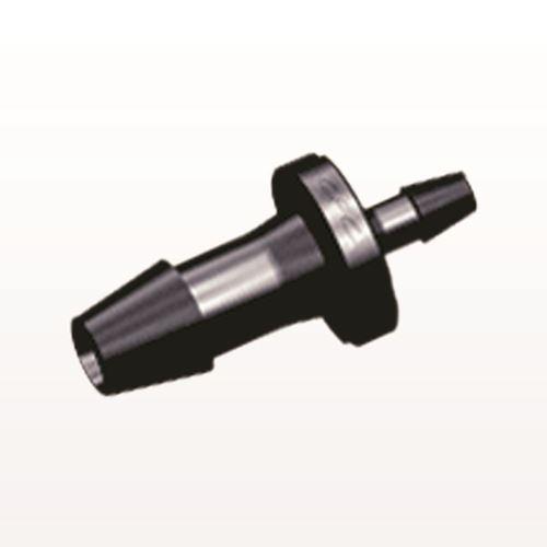 Straight Reducer Connector, Barbed, Black - HSR6331