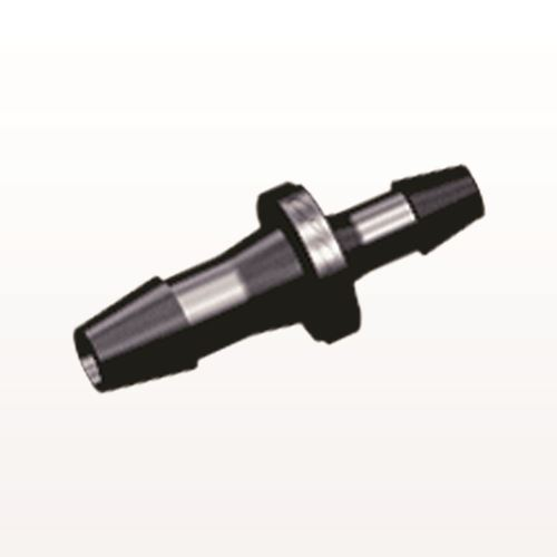 Straight Reducer Connector, Barbed, Black - HSR8631