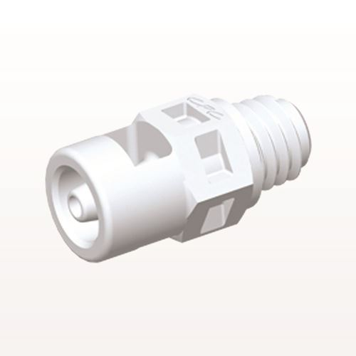 Straight Connector, Barbed, White - MS230