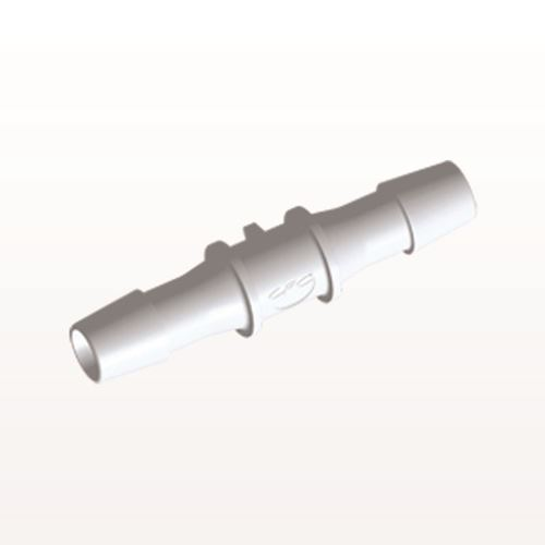 Straight Connector, Barbed, White - HS1230